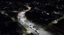 Betim chega a índice superior a 80% de iluminação pública de led