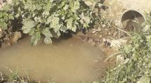 Moradores de Betim denunciam esgoto a céu aberto e problemas causados por obra inacabada
