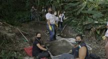 Meio Ambiente recupera nascente no parque Chico Mendes
