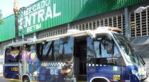 Guarda Municipal instala ônibus