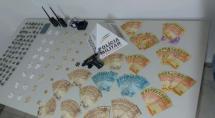 Presos com drogas, armas e R$ 7.000 do tráfico em Betim