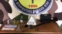 Trio é apreendido com fuzil em apartamento usado para movimentação do tráfico em Betim