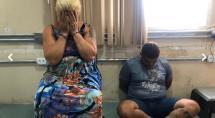Mãe e filho são presos suspeitos de tráfico de drogas