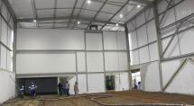 Obras do galpão logístico do Centro Materno entram na reta final