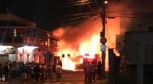 Ônibus é incendiado em Betim e autores deixam carta pedindo melhorias nas penitenciárias